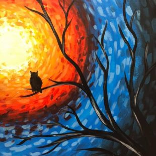George Freeman School - Wine & Paint Night Fundraiser 2019