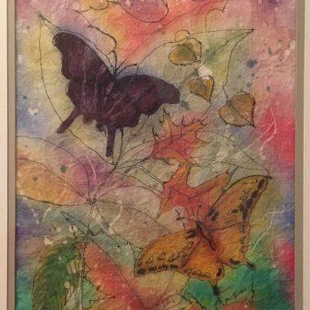 Vivian McCallum 'Butterflies' batik